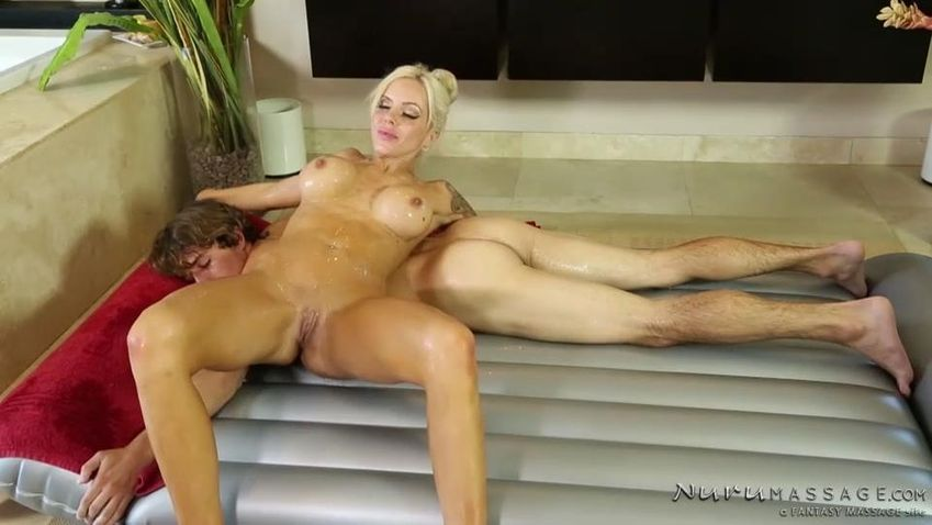 Hot masseuse liv aguilera fucked step dad massage fuck